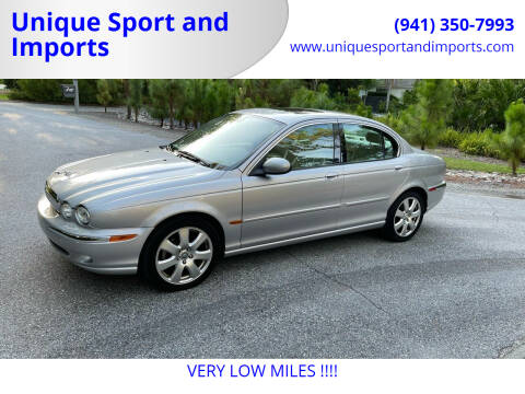 2004 Jaguar X-Type for sale at Unique Sport and Imports in Sarasota FL