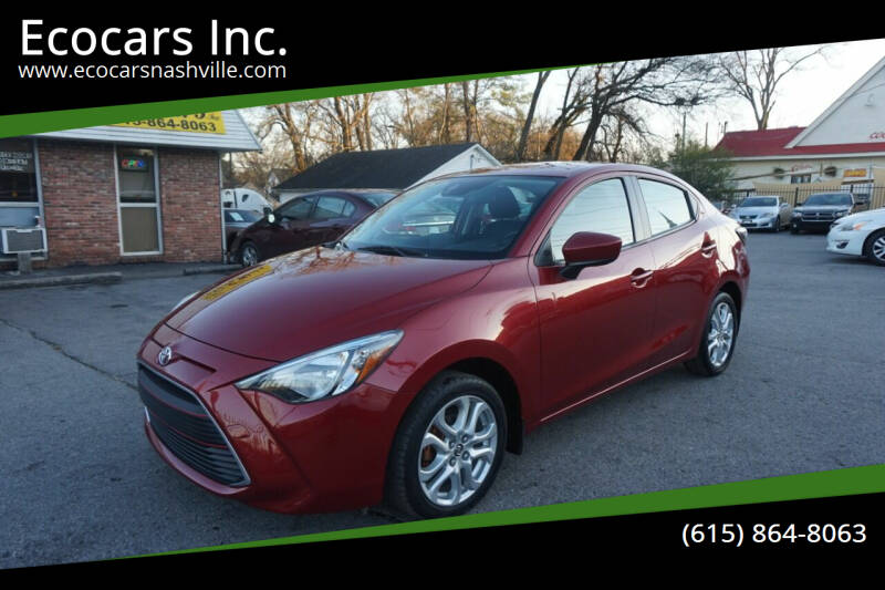 2017 Toyota Yaris iA for sale at Ecocars Inc. in Nashville TN