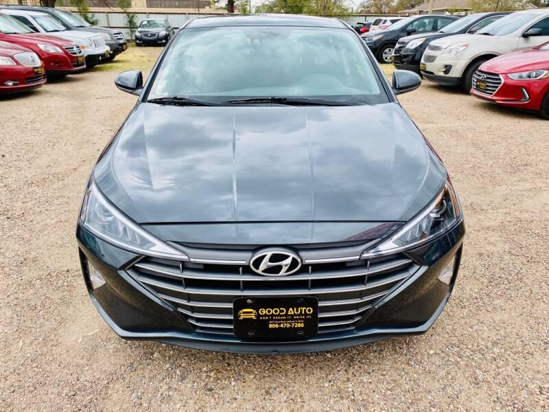 2020 Hyundai Elantra for sale at Good Auto Company LLC in Lubbock TX