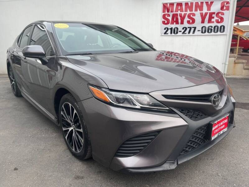 2018 Toyota Camry for sale at Manny G Motors in San Antonio TX