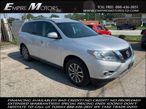 2014 Nissan Pathfinder for sale at Empire Motors LTD in Cleveland OH