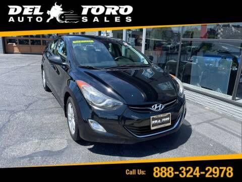 2013 Hyundai Elantra for sale at DEL TORO AUTO SALES in Auburn WA