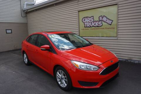 2016 Ford Focus for sale at Cars Trucks & More in Howell MI