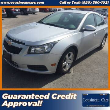 2012 Chevrolet Cruze for sale at CousineauCars.com in Appleton WI