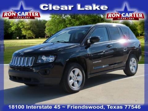2017 Jeep Compass for sale at Ron Carter  Clear Lake Used Cars in Houston TX