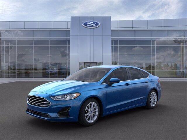 2020 Ford Fusion Hybrid for sale in Wapakoneta, OH