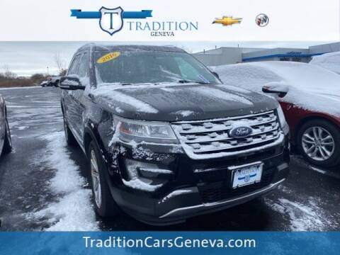 2016 Ford Explorer for sale at Tradition Chevrolet Buick in Geneva NY