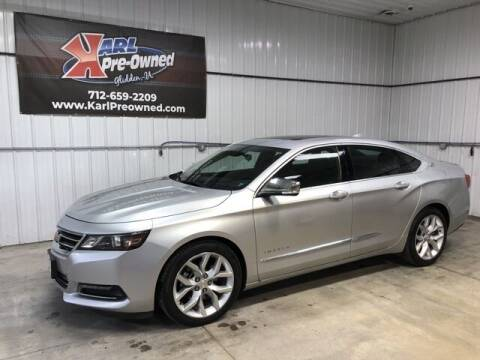 2015 Chevrolet Impala for sale at Karl Pre-Owned in Glidden IA