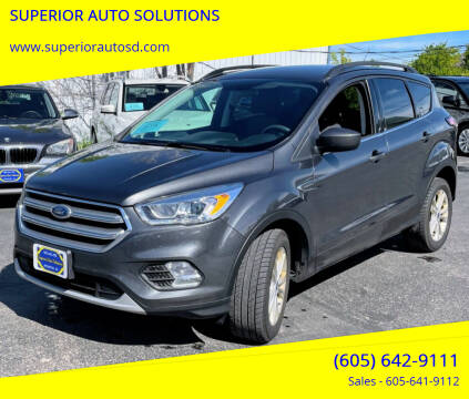 2017 Ford Escape for sale at SUPERIOR AUTO SOLUTIONS in Spearfish SD