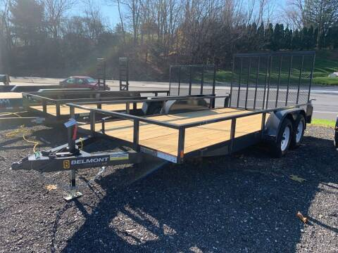 2021 Belmont 7x16 Landscape Trailer for sale at Smart Choice 61 Trailers in Shoemakersville PA