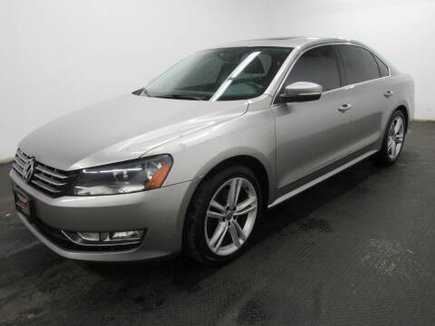 2014 Volkswagen Passat for sale at Automotive Connection in Fairfield OH