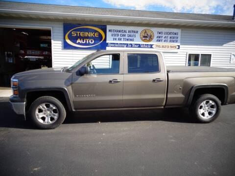 2014 Chevrolet Silverado 1500 for sale at STEINKE AUTO INC. - Steinke Auto Inc (South) in Clintonville WI
