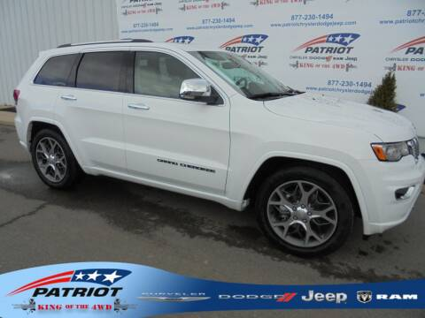 2021 Jeep Grand Cherokee for sale at PATRIOT CHRYSLER DODGE JEEP RAM in Oakland MD
