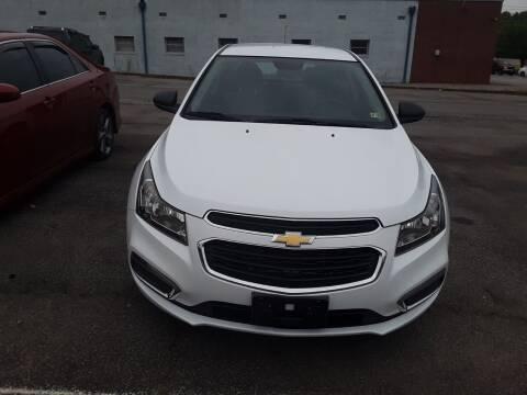 2016 Chevrolet Cruze Limited for sale at Auto Villa in Danville VA