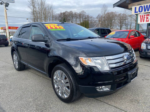 2008 Ford Edge for sale at Low Auto Sales in Sedro Woolley WA