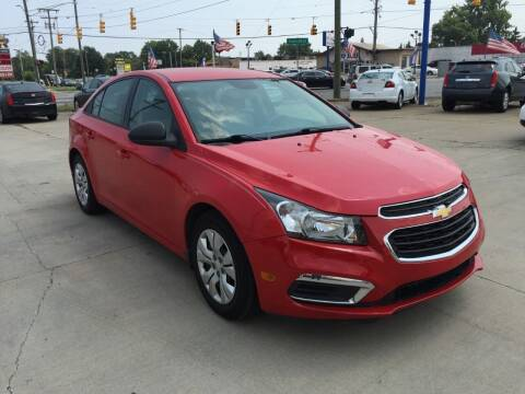 2015 Chevrolet Cruze for sale at City Auto Sales in Roseville MI