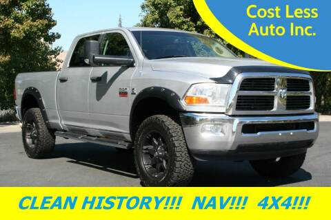 2012 RAM Ram Pickup 3500 for sale at Cost Less Auto Inc. in Rocklin CA