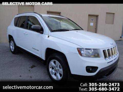 2015 Jeep Compass for sale at Selective Motor Cars in Miami FL