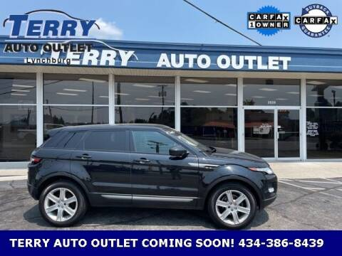 2015 Land Rover Range Rover Evoque for sale at Terry Auto Outlet in Lynchburg VA