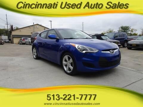 2012 Hyundai Veloster for sale at Cincinnati Used Auto Sales in Cincinnati OH
