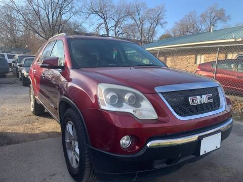 2007 GMC Acadia for sale at ALVAREZ AUTO SALES in Des Moines IA