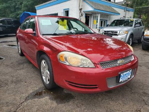 2013 Chevrolet Impala for sale at New Plainfield Auto Sales in Plainfield NJ