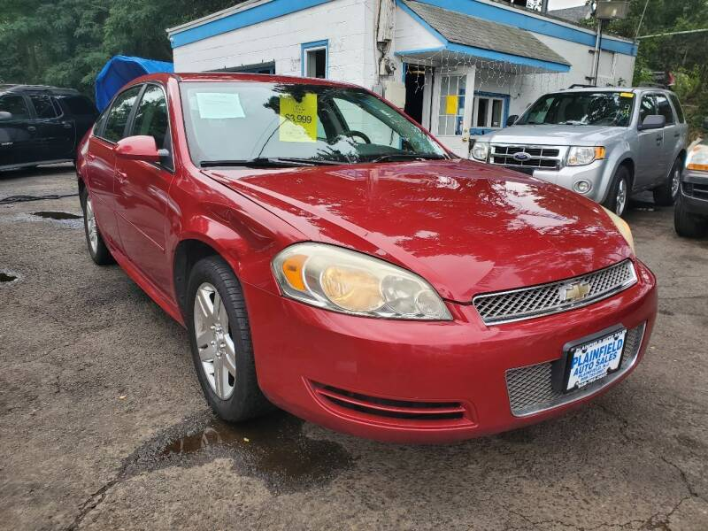 2013 Chevrolet Impala for sale at New Plainfield Auto Sales in Plainfield NJ