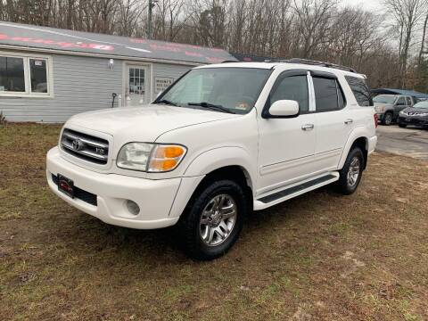 2003 Toyota Sequoia for sale at Manny's Auto Sales in Winslow NJ