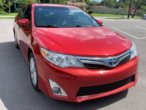 2012 Toyota Camry Hybrid for sale at Consumer Auto Credit in Tampa FL