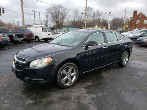 2012 Chevrolet Malibu for sale at COLONIAL AUTO SALES in North Lima OH