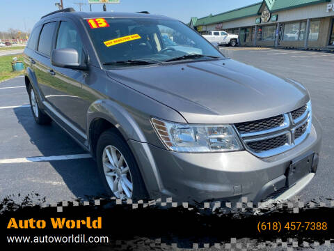 2013 Dodge Journey for sale at Auto World in Carbondale IL