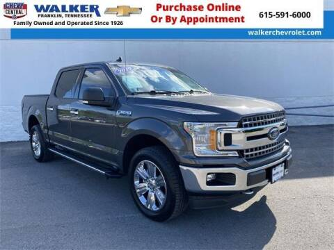 2019 Ford F-150 for sale at WALKER CHEVROLET in Franklin TN