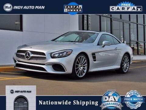 2018 Mercedes-Benz SL-Class for sale at INDY AUTO MAN in Indianapolis IN