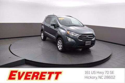 2020 Ford EcoSport for sale at Everett Chevrolet Buick GMC in Hickory NC