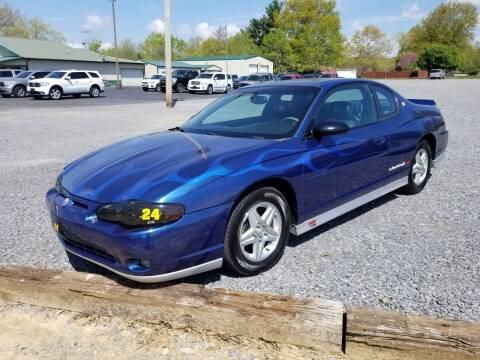 2003 Chevrolet Monte Carlo for sale at Ridgeway's Auto Sales - Buy Here Pay Here in West Frankfort IL