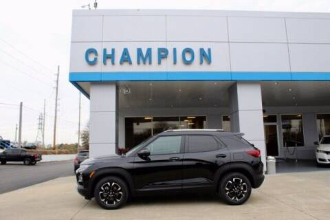 2021 Chevrolet TrailBlazer for sale at Champion Chevrolet in Athens AL