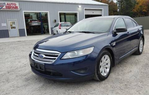 2012 Ford Taurus for sale at Hilltop Auto in Clare MI