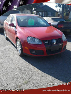 2007 Volkswagen Jetta for sale at 2 Way Auto Sales in Spokane Valley WA