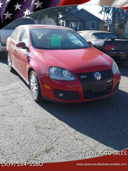 2007 Volkswagen Jetta for sale at 2 Way Auto Sales in Spokane Valley WA