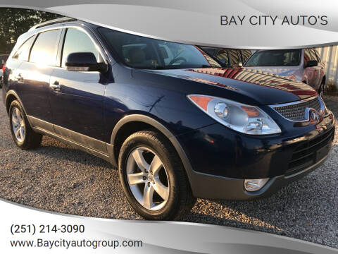 2011 Hyundai Veracruz for sale at Bay City Auto's in Mobile AL