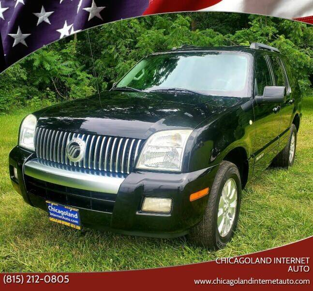 2009 Mercury Mountaineer for sale at Chicagoland Internet Auto - 410 N Vine St New Lenox IL, 60451 in New Lenox IL
