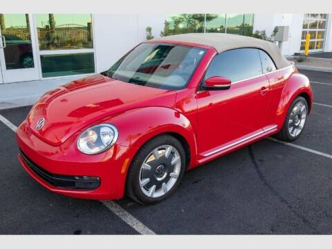 2013 Volkswagen Beetle Convertible for sale at REVEURO in Las Vegas NV