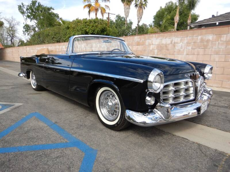1955 Chrysler 300 for sale at California Cadillac & Collectibles in Los Angeles CA