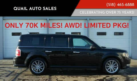 2014 Ford Flex for sale at Quail Auto Sales in Albany NY