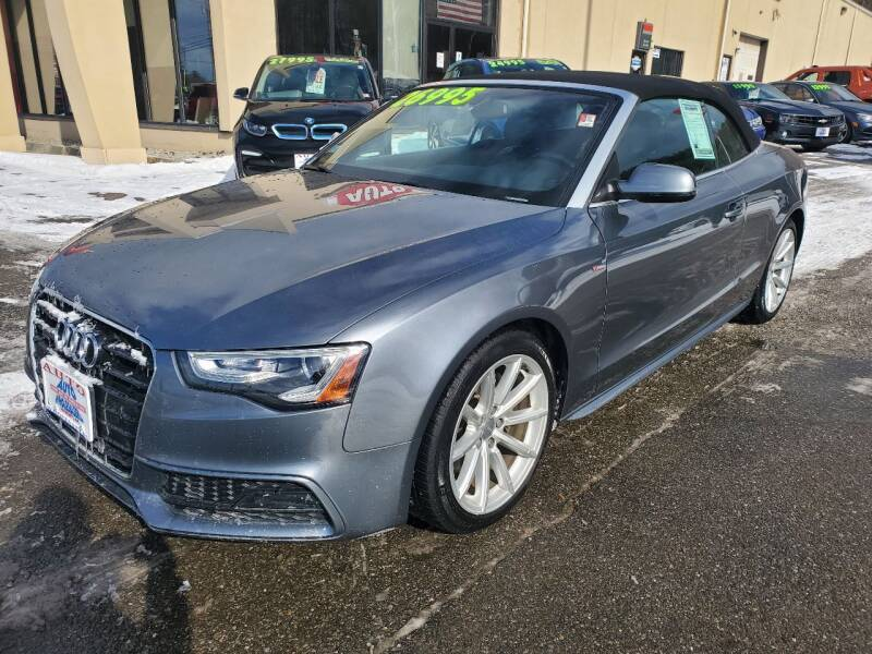 2016 Audi A5 for sale at Auto Wholesalers Of Hooksett in Hooksett NH