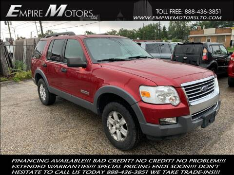 2006 Ford Explorer for sale at Empire Motors LTD in Cleveland OH