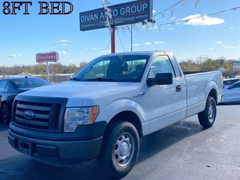 2012 Ford F-150 for sale at Divan Auto Group in Feasterville PA