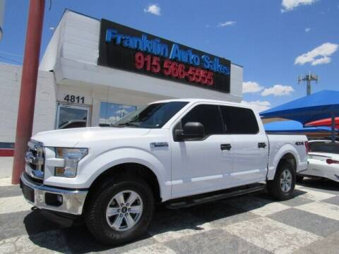 2015 Ford F-150 for sale at Franklin Auto Sales in El Paso TX