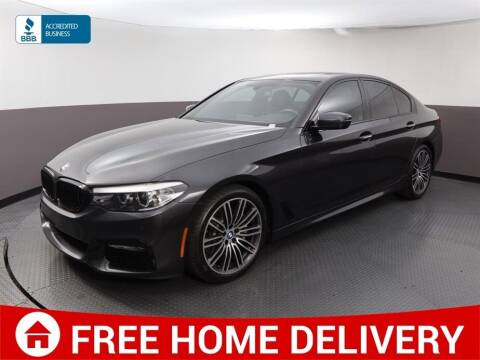 2017 BMW 5 Series for sale at Florida Fine Cars - West Palm Beach in West Palm Beach FL