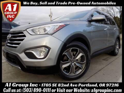 2014 Hyundai Santa Fe for sale at A1 Group Inc in Portland OR